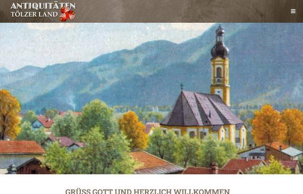 Vorschau von www.antik-toelzerland.de, Antiquitäten Tölzer Land