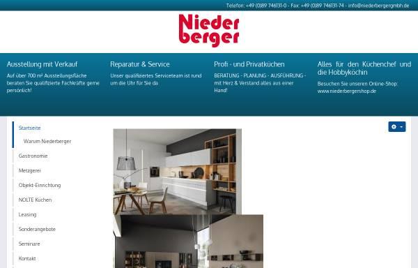 Vorschau von www.niederbergergmbh.de, Niederberger GmbH