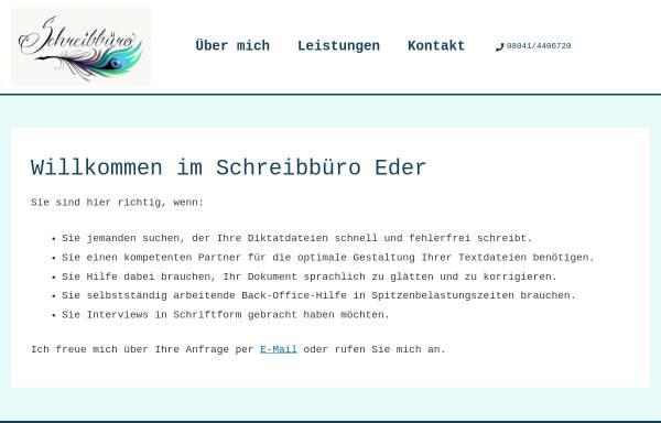 Vorschau von www.schreibbuero-lenggries.de, Schreibbüro Lenggries