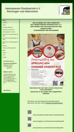 Vorschau der mobilen Webseite www.heimatverein-rankbachtal.de, Heimatmuseum