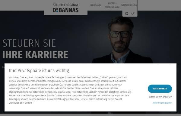 Vorschau von www.steuerberateronline.com, Steuerlehrgänge Dr. Bannas GmbH