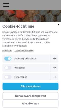 Vorschau der mobilen Webseite www.moreandmohr.de, More and Mohr