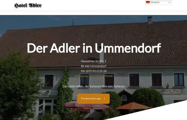 Vorschau von www.adler-ummendorf.com, Landhotel Adler Ummendorf