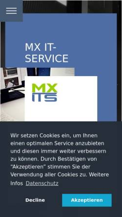 Vorschau der mobilen Webseite www.huber-service.de, Master's Huber