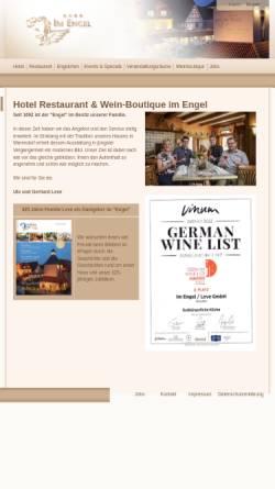 Vorschau der mobilen Webseite www.hotel-im-engel.de, Im Engel