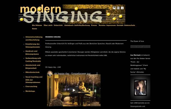 Vorschau von modern-singing.de, Mertash, Ina