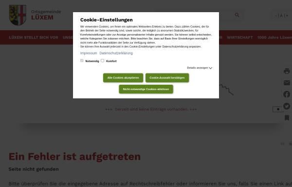Vorschau von www.wittlich-luexem.de, Musikverein Lüxem 1956 e.V.