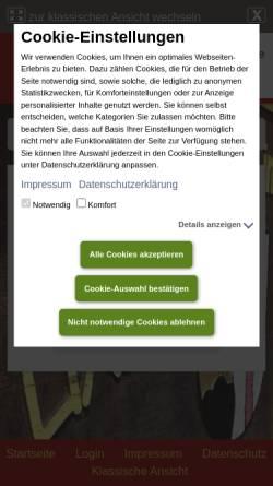 Vorschau der mobilen Webseite www.wittlich-luexem.de, Musikverein Lüxem 1956 e.V.