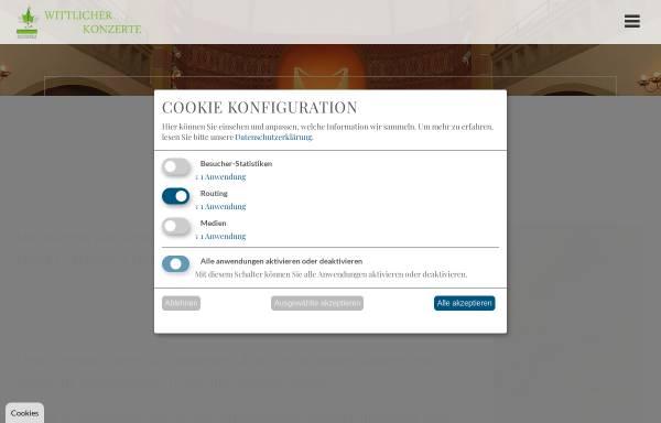 Vorschau von www.wittlicher-konzerte.de, Wittlicher Konzerte
