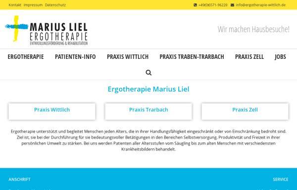 Vorschau von www.ergotherapie-wittlich.de, Ergotherapie Martin Schäfer