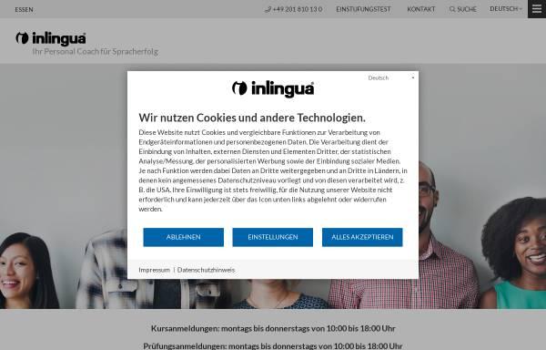 Vorschau von www.inlingua-essen.de, Inlingua Center Essen