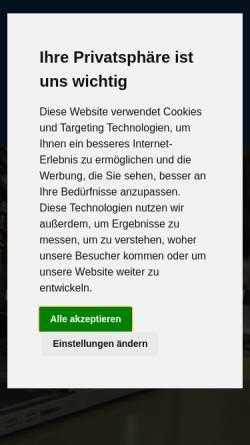 Vorschau der mobilen Webseite www.bbw-bremen.de, Berufsbildungswerk Bremen GmbH