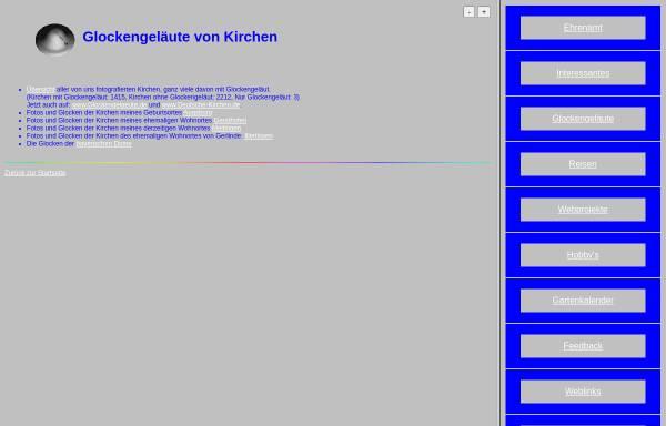 Vorschau von www.alfred-schwegler.de, Glockengeläute von Kirchen