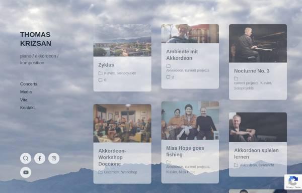 Vorschau von www.thomaskrizsan.de, Krizsan,Thomas
