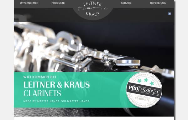 Vorschau von www.leitner-kraus.de, Leitner und Kraus, Neustadt/Aisch