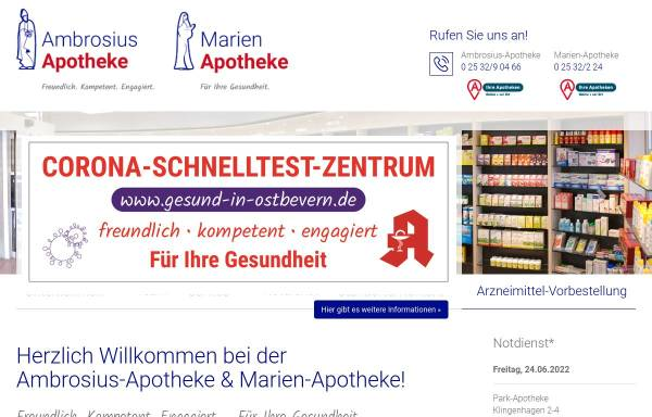Vorschau von www.ambrosius-apotheke.de, Ambrosius-Apotheke