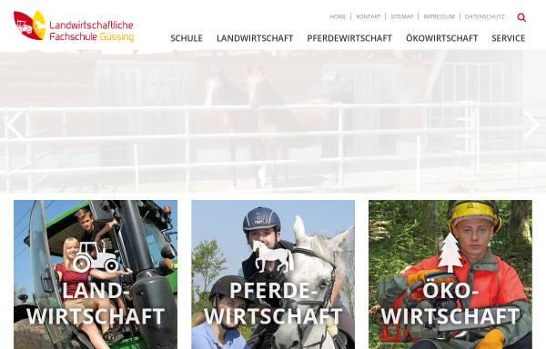Vorschau von www.lfsguessing.at, Landwirtschaftliche Fachschule Güssing