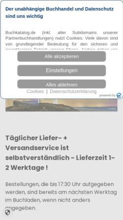 Vorschau der mobilen Webseite www.mein-buchladen.de, Die Bücher Mühlheim