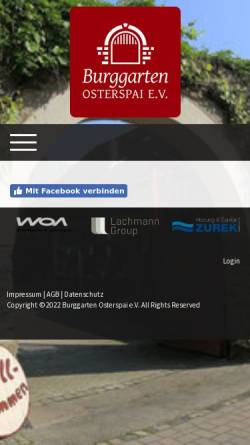 Vorschau der mobilen Webseite burggarten-osterspai.de, Burg Osterspai - Wikipedia