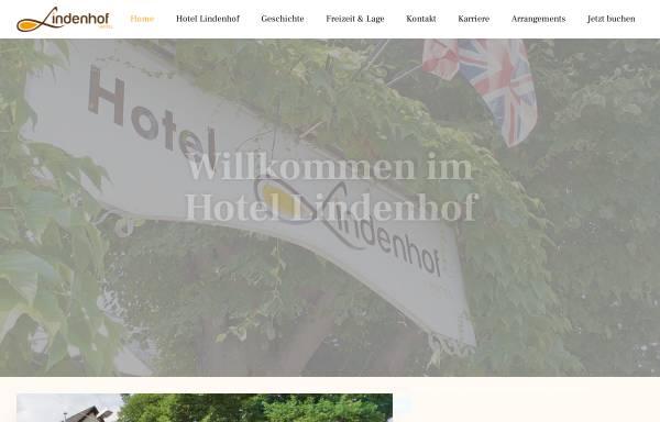Vorschau von www.lindenhof-hotel.com, Hotel Lindenhof