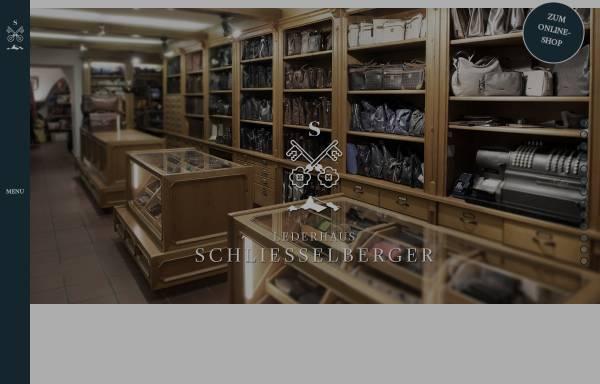 Vorschau von www.lederhaus.at, Lederhaus Schliesselberger - Lederwaren Felle und Pelze in Salzburg