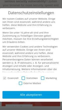 Vorschau der mobilen Webseite www.moebi.at, Möbi Möbelhaus
