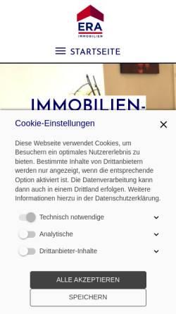 Vorschau der mobilen Webseite www.vilu.at, Immobilien und Versicherungen Lusser