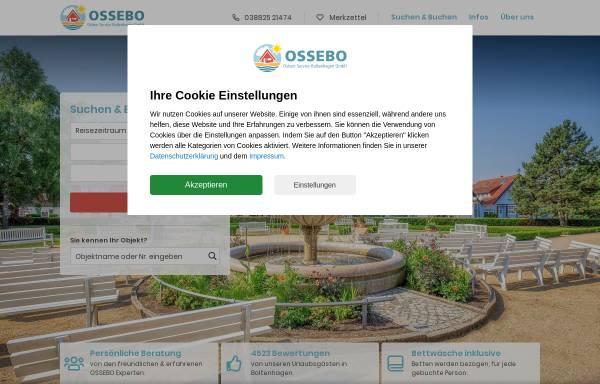 Vorschau von www.ossebo.de, Boltenhagen - Ostseeurlaub