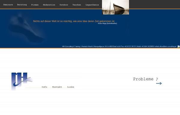 Vorschau von www.mh-consulting.at, MH Consulting & Training