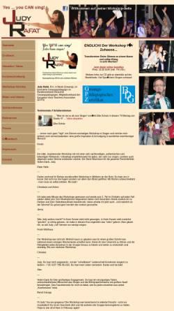 Vorschau der mobilen Webseite workshop.judyrafat.de, Rafat, Judy