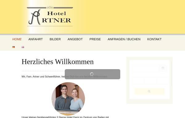 Vorschau von www.hotel-artner.at, Hotel Arner und Pension Wienerstub`n