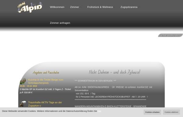 Vorschau von www.hotel-alpin.at, Hotel Alpin
