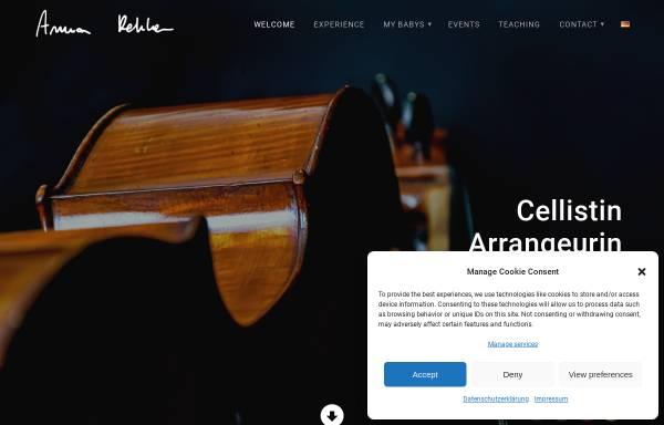 Vorschau von cello.rehker.de, Rehker, Anna - Cellopädagogin