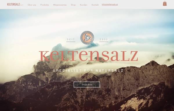 Vorschau von www.keltensalz.at, Keltenschild Naturprodukte
