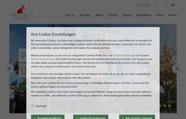 Vorschau von www.tana.at, t a n a - Werner & Mertz Professional