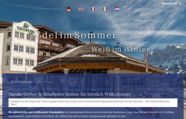 Vorschau von www.edelweiss.at, Hotel Edelweiss