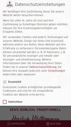 Vorschau der mobilen Webseite www.hotel-lamm.at, Hotel Lamm