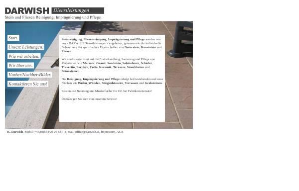 Vorschau von www.darwish.at, Darwish Dienstleistungen