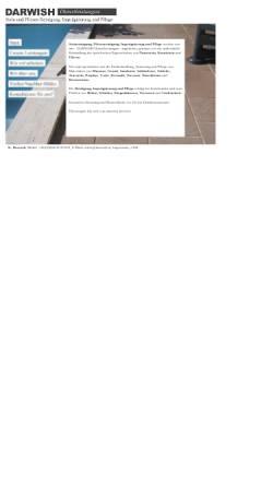 Vorschau der mobilen Webseite www.darwish.at, Darwish Dienstleistungen