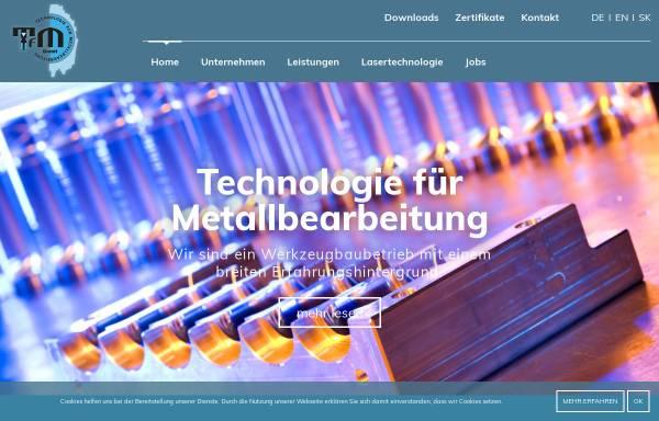 Vorschau von www.tfm.at, TFM GmbH - Technologie für Metallbearbeitung