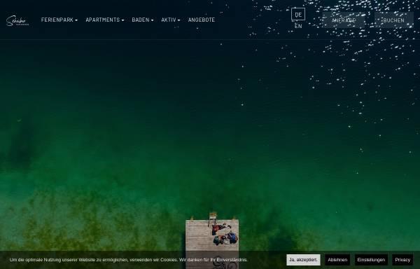Vorschau von www.fewo-scheiber.at, Ferienpark Scheiber am Klopeiner See