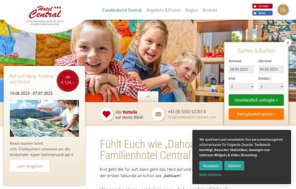 Vorschau von www.familienhotels-stjohann.com, Hotel St. Johanner Hof