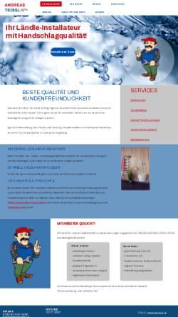 Vorschau der mobilen Webseite www.andreas-teissl.at, Andreas Teissl