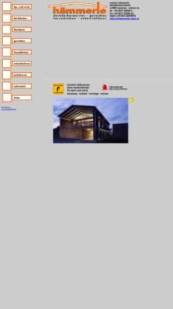 Vorschau der mobilen Webseite www.haemmerle-dach.at, Markus Hämmerle - Dachdeckermeister