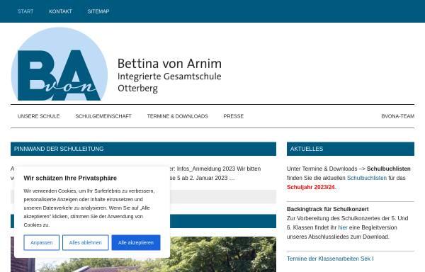 Vorschau von www.igs-otterberg.de, Integrierte Gesamtschule Otterberg