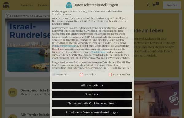 Vorschau von www.missionswerk.de, Missionswerk Karlsruhe
