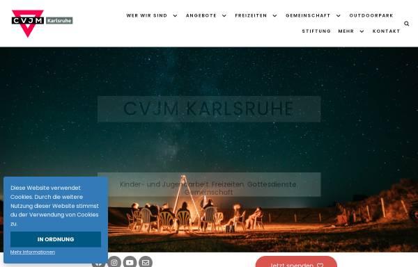 Vorschau von www.cvjm-ka.de, CVJM Karlsruhe