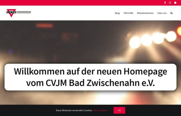 Vorschau von www.cvjm-bad-zwischenahn.de, CVJM Bad Zwischenahn e.V.