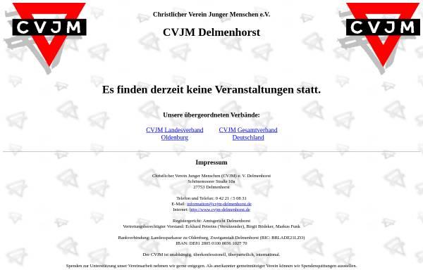 Vorschau von www.cvjm-delmenhorst.de, CVJM Delmenhorst