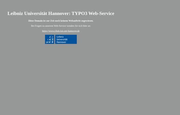 Vorschau von www.igbe.uni-hannover.de, Institut für Grundbau, Bodenmechanik und Energiewasserbau